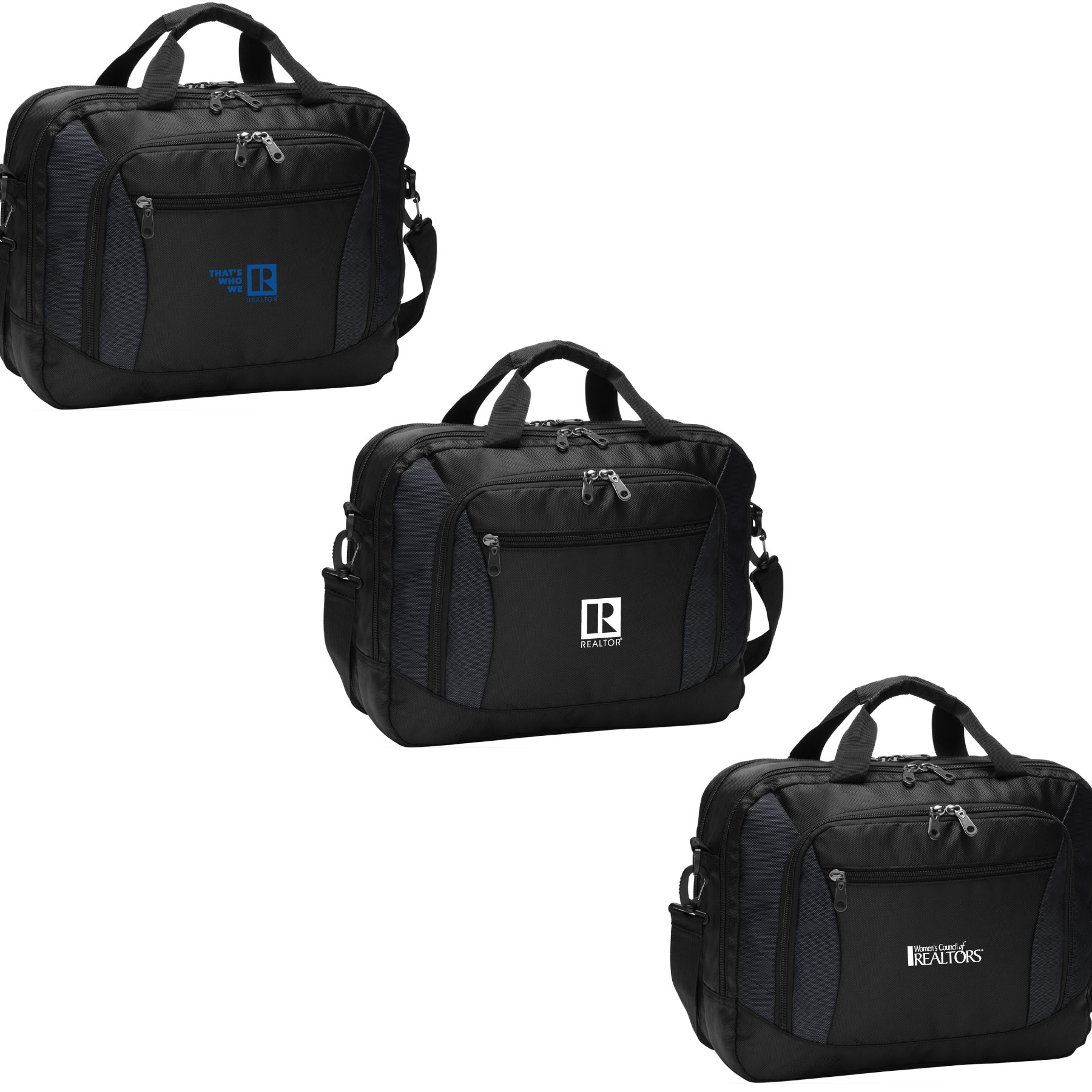 Laptop Briefcase Messenger Laptop, Tablet, iPad, Messenger, Bag, Tote, Briefcase, GRI, MRP, SFR, RSPS, CCIM, WCR, Party, University, CIPS, YPN, Green, RCE, SRES, BPOR, PSA, e-Pro, Epro