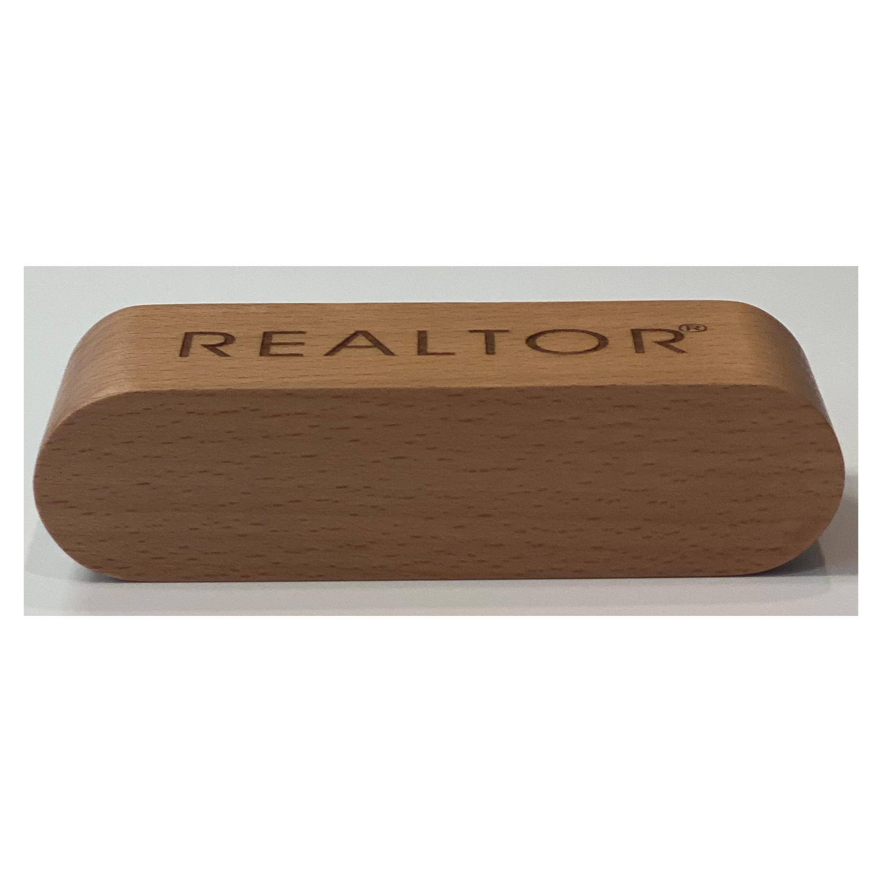 Beechwood Desktop Business Card Case - RTS4907