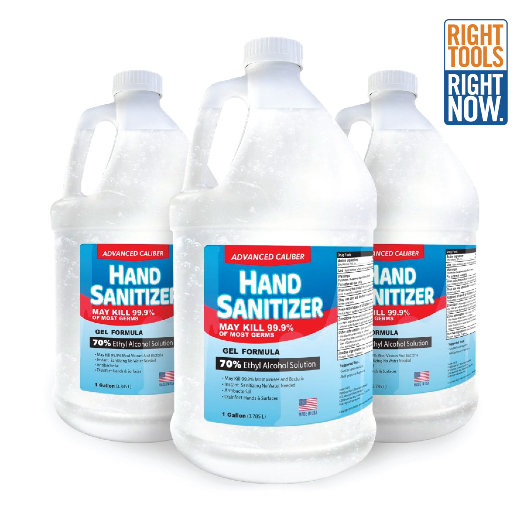 Made to Order: Unscented Gallon of Hand Sanitizer COVID,COVID-19,SARS,Virus,Viruses,Coughs,Safety,Sanis,Wipes,Cleaners,Antibacterials,Screens,Shields,Sneeze,Clear