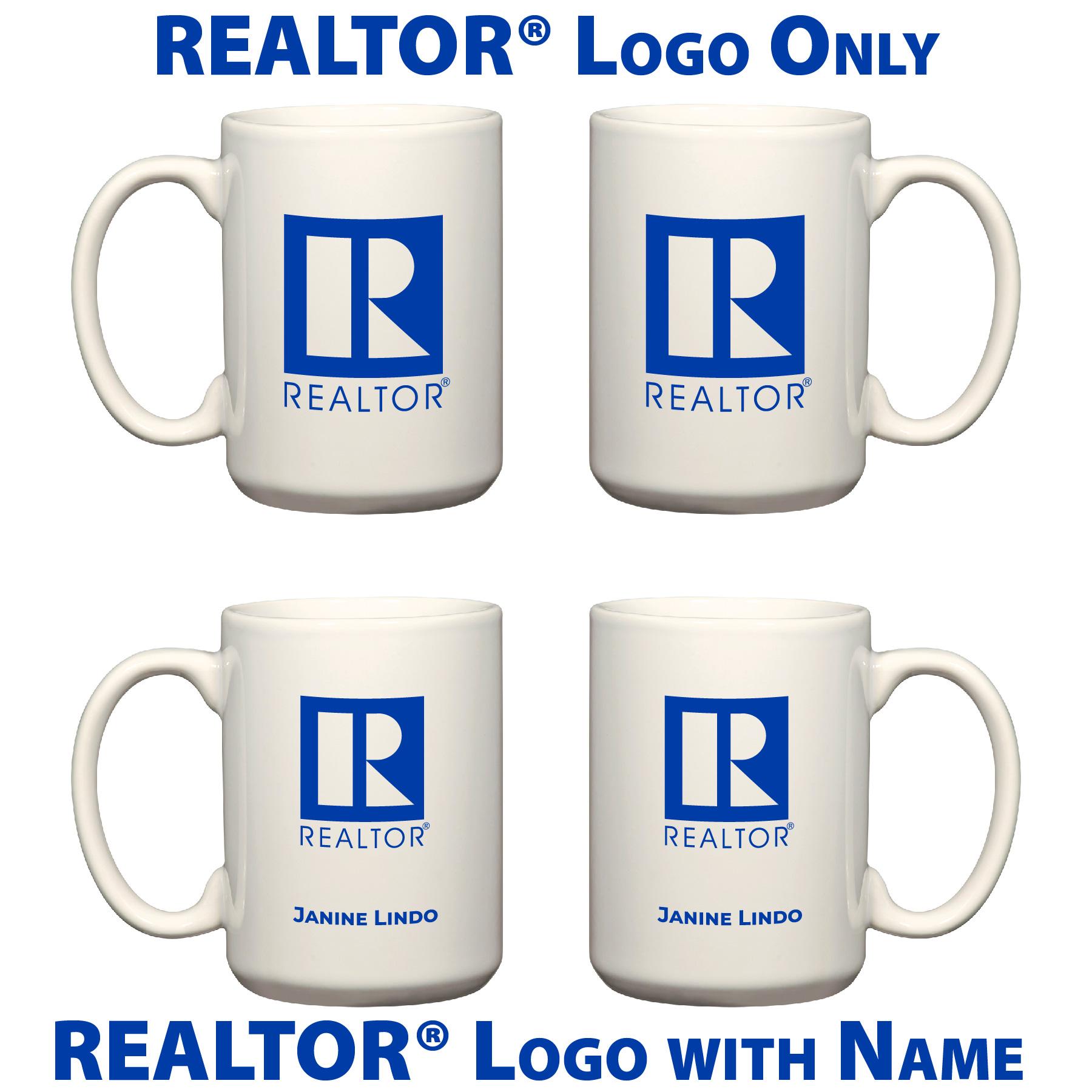 REALTOR® Ceramic Mug - White - RTS4911