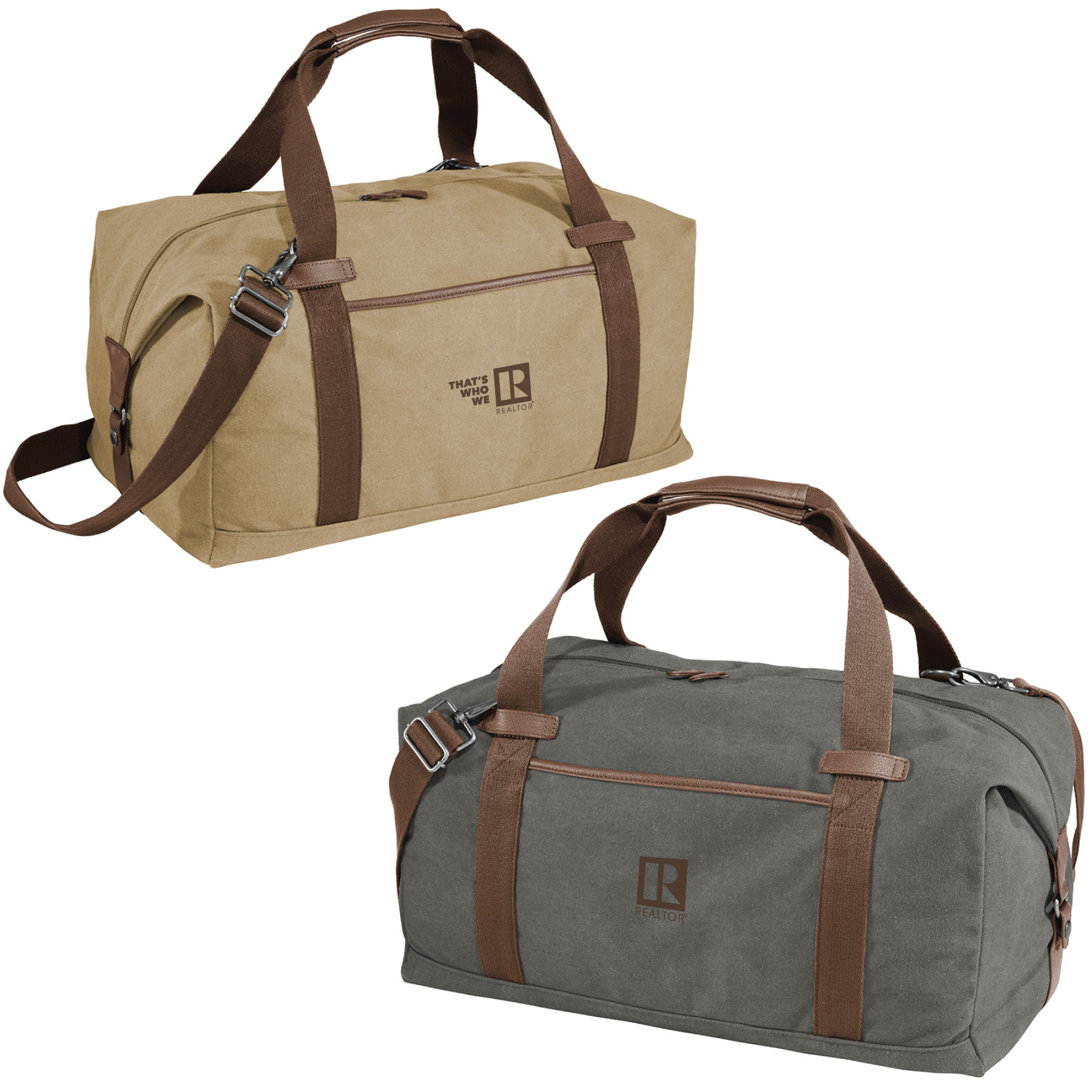 Cambridge Premium Cotton Canvas Duffel - BTO1039