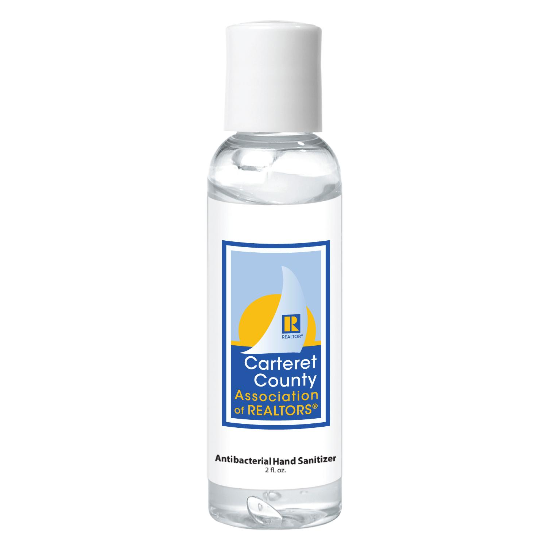 Made to Order: 2oz Custom Logo Sanitizer (100 Minimum) - RTS4788
