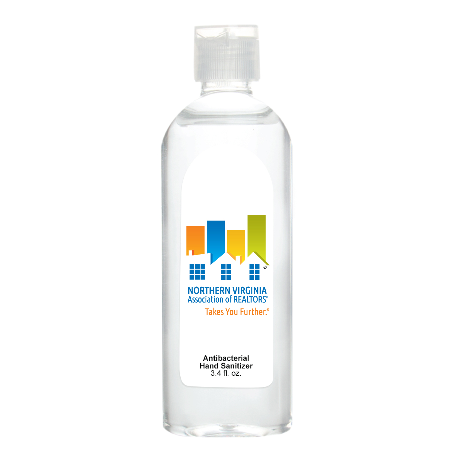 Made to Order: 3.4oz Custom Logo Sanitizer (100 Minimum) - RTS4789