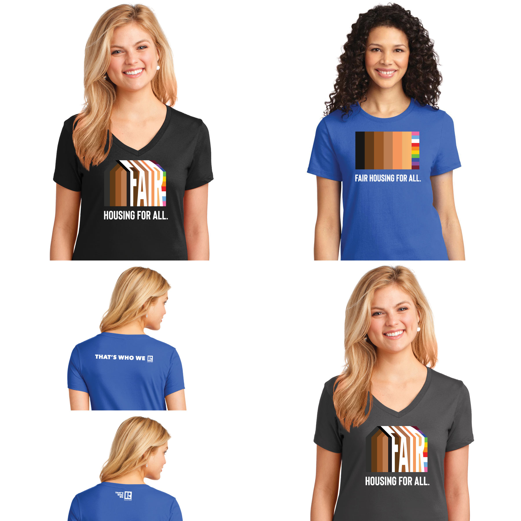 Fair Housing Ladies Tee Shirt - FH1001