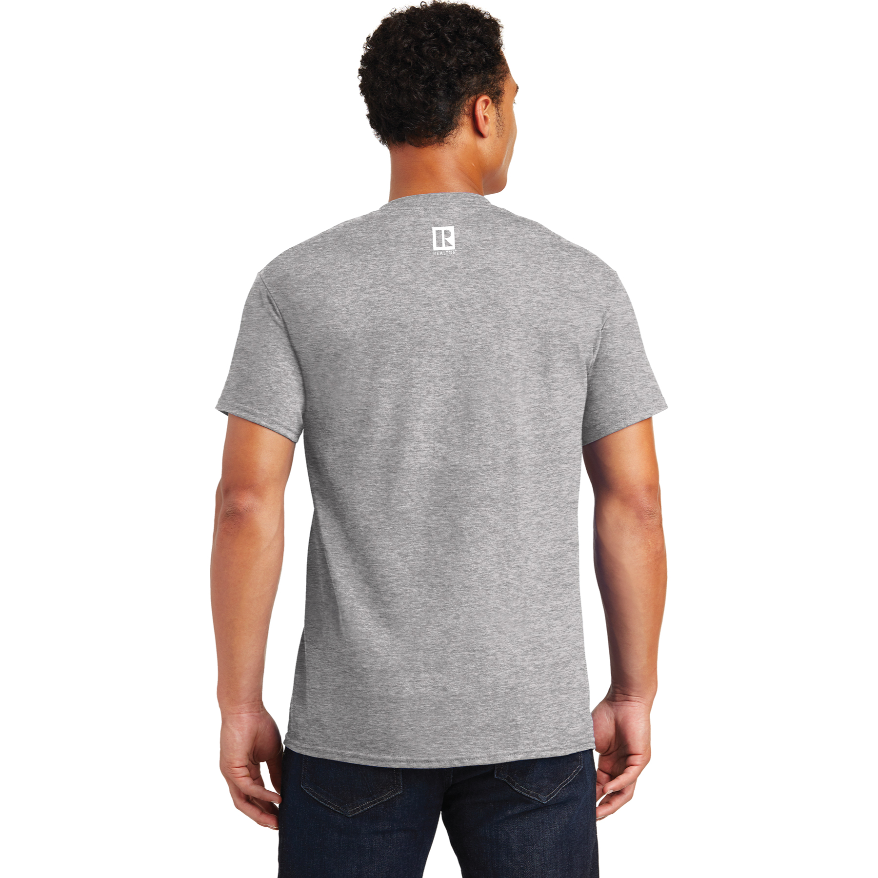 Is Your Agent a REALTOR® Grey Tee Shirt - RCG1147