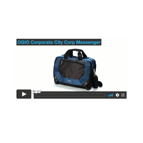 City OGIO® Corporate Messenger Bag - BTO1040