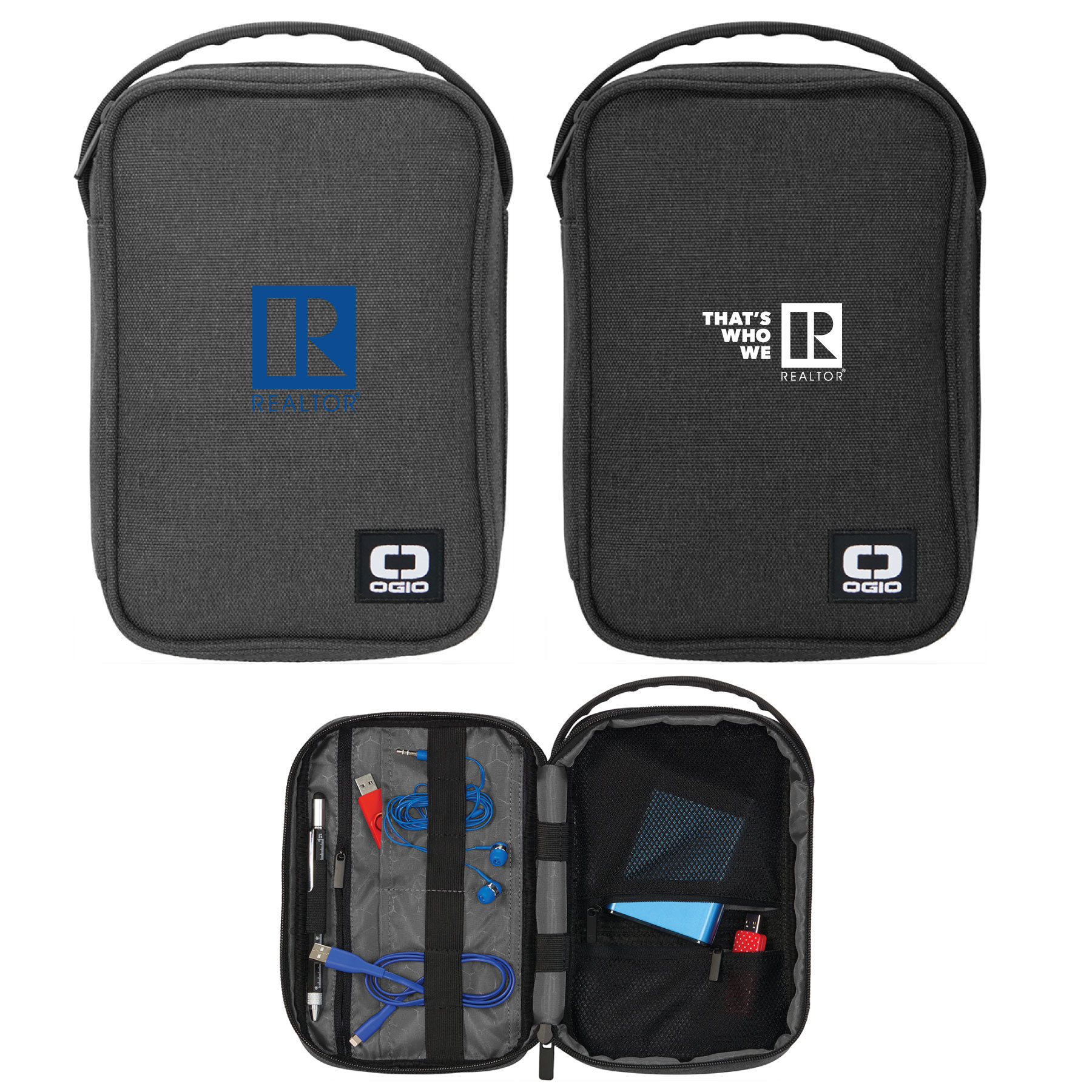 Vault OGIO® Electronics Tote/Valuables Case Dob,Bathroom,Kits,Pouches,Tech,Cases