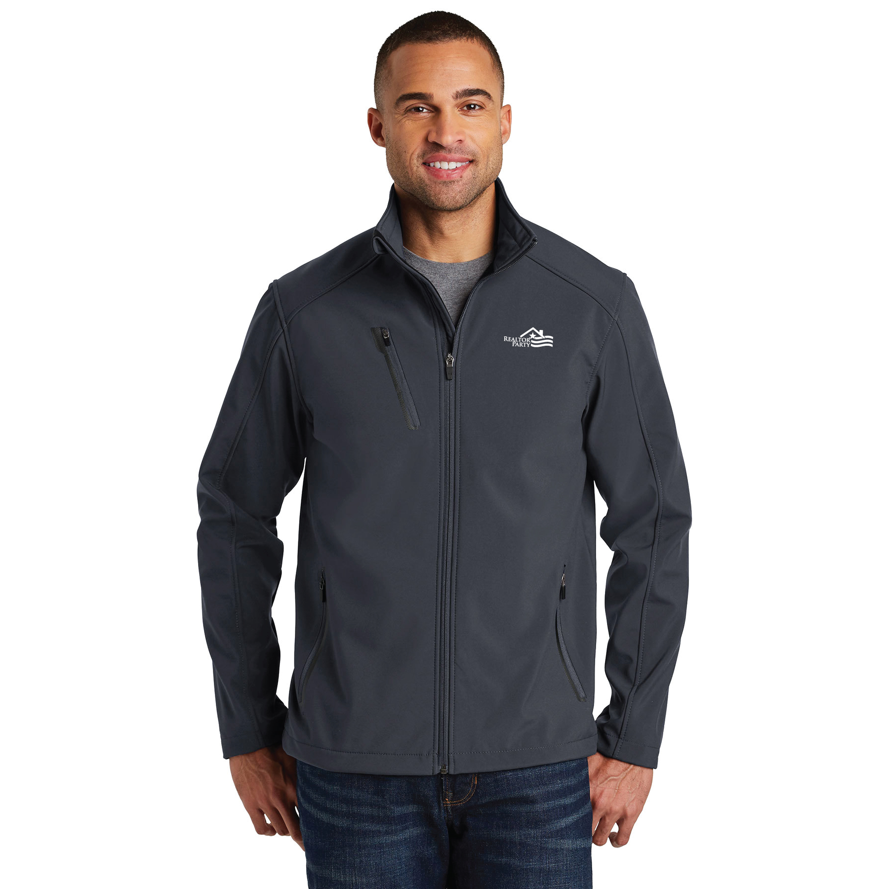 REALTOR® Party Welded Soft Shell Jacket - RCG1320RP