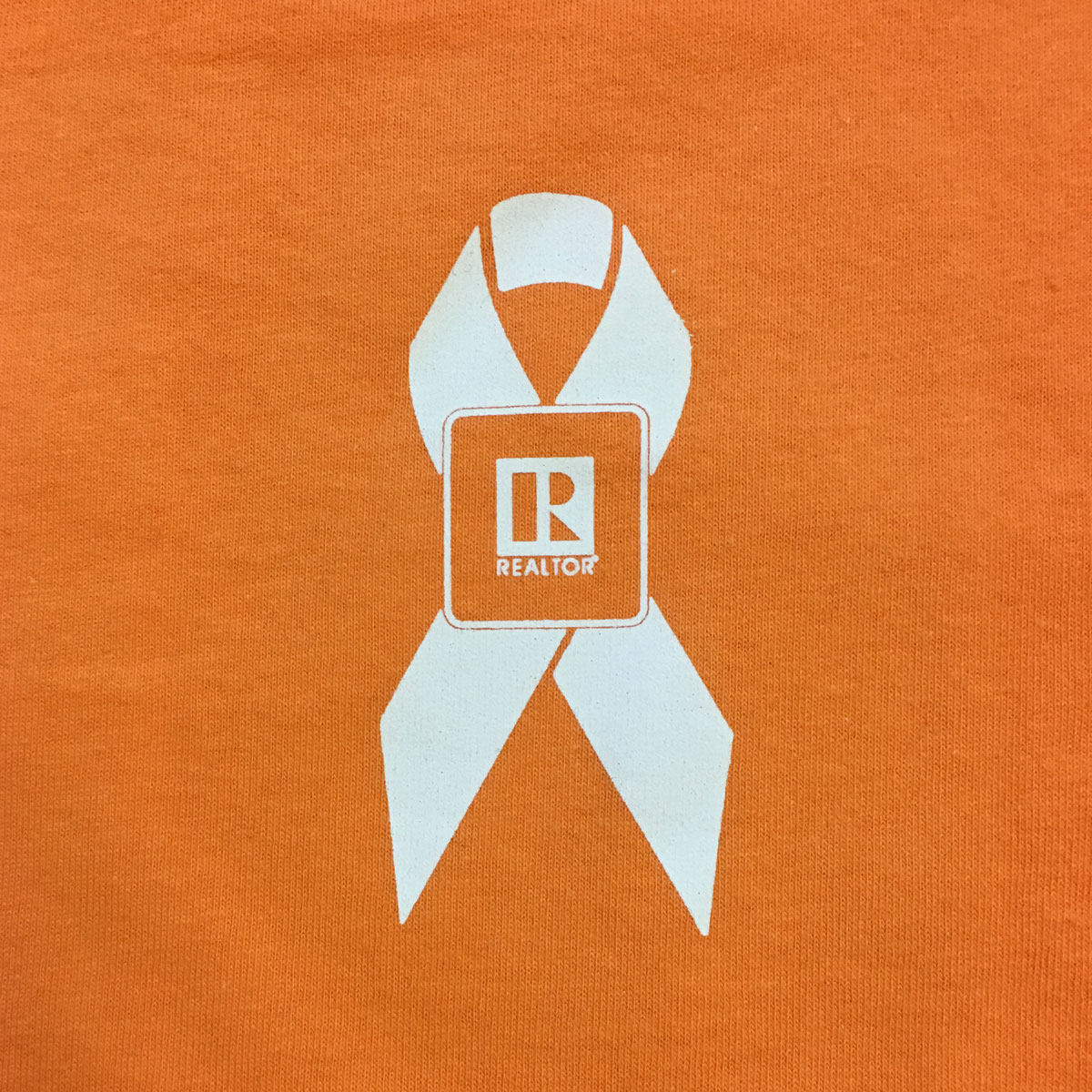 REALTOR®-logo branded Awareness Ribbon Tee Shirt - RCG1137
