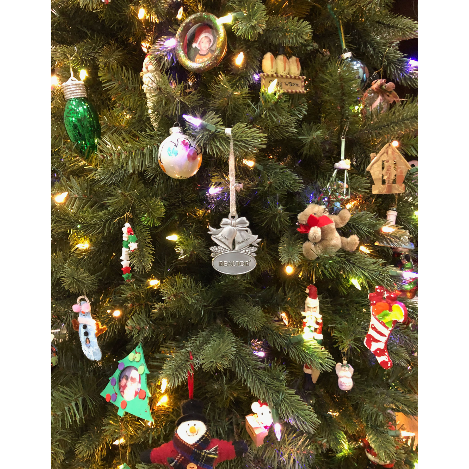 Cast Pewter Bell Ornament - RTS4750