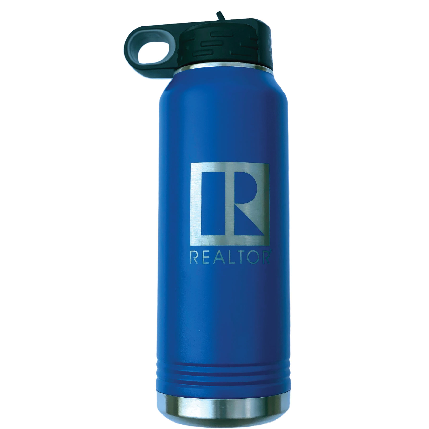 Insulated 32 oz Water Bottle with Straw Cap - RTS4900