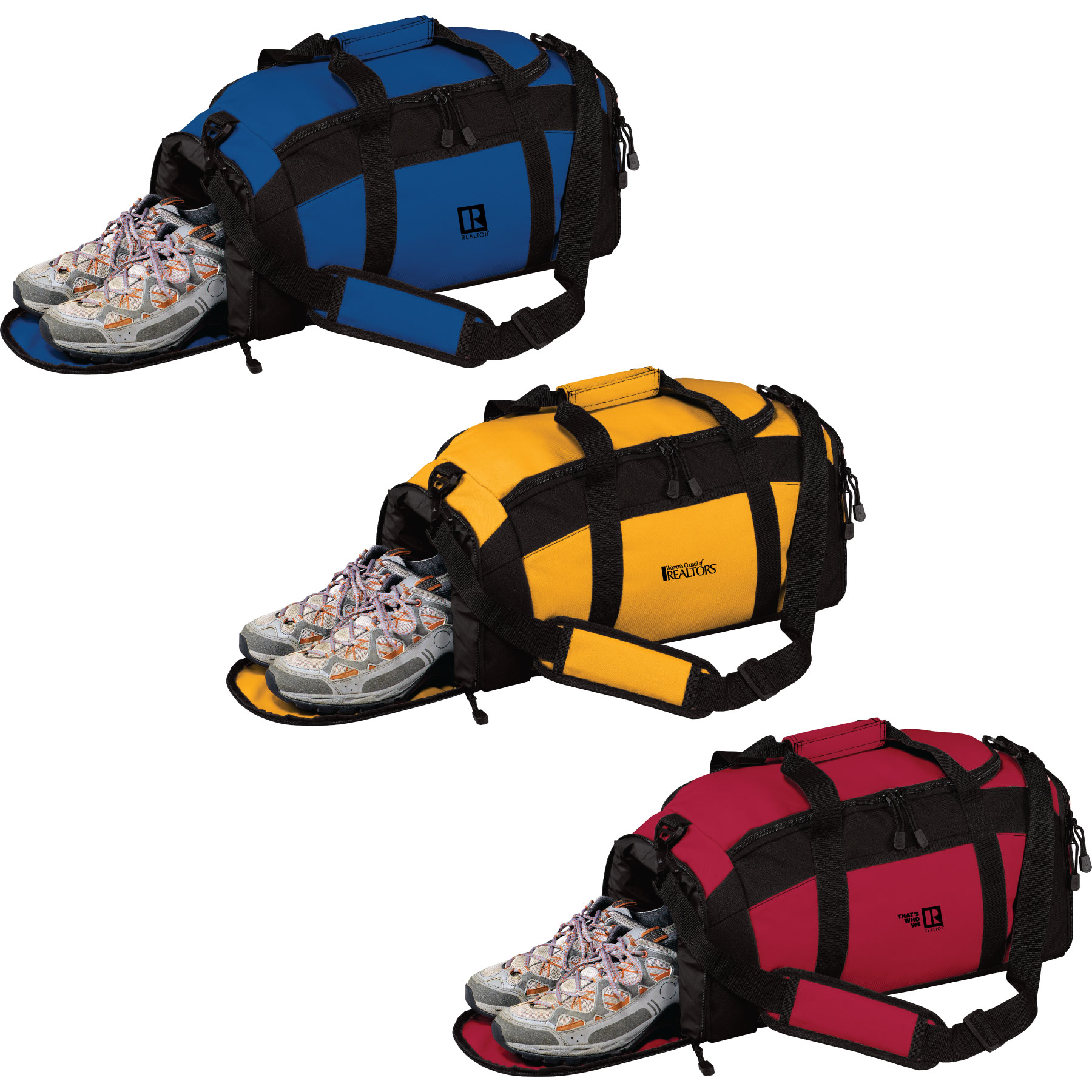 Generations Gym Bag Workout,Clothes,Socks,Shoes,Duffle,Duffel,Duff