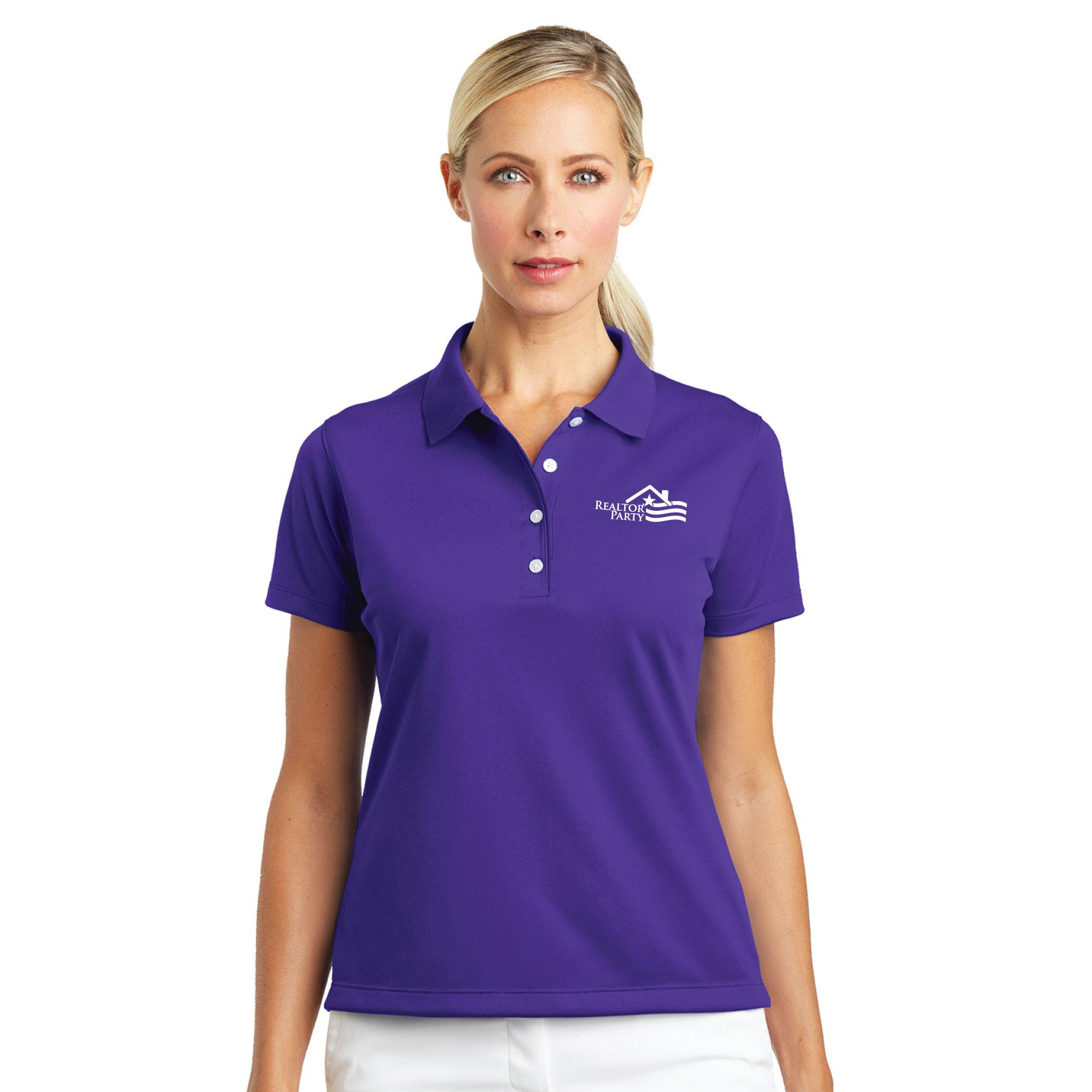 REALTOR® Party Ladies Nike® Tech Basic Dri-FIT® Polo Polos,Nikes,Swoshes,Golfs,Stripes,RP,RPAC,Parties,R.P.
