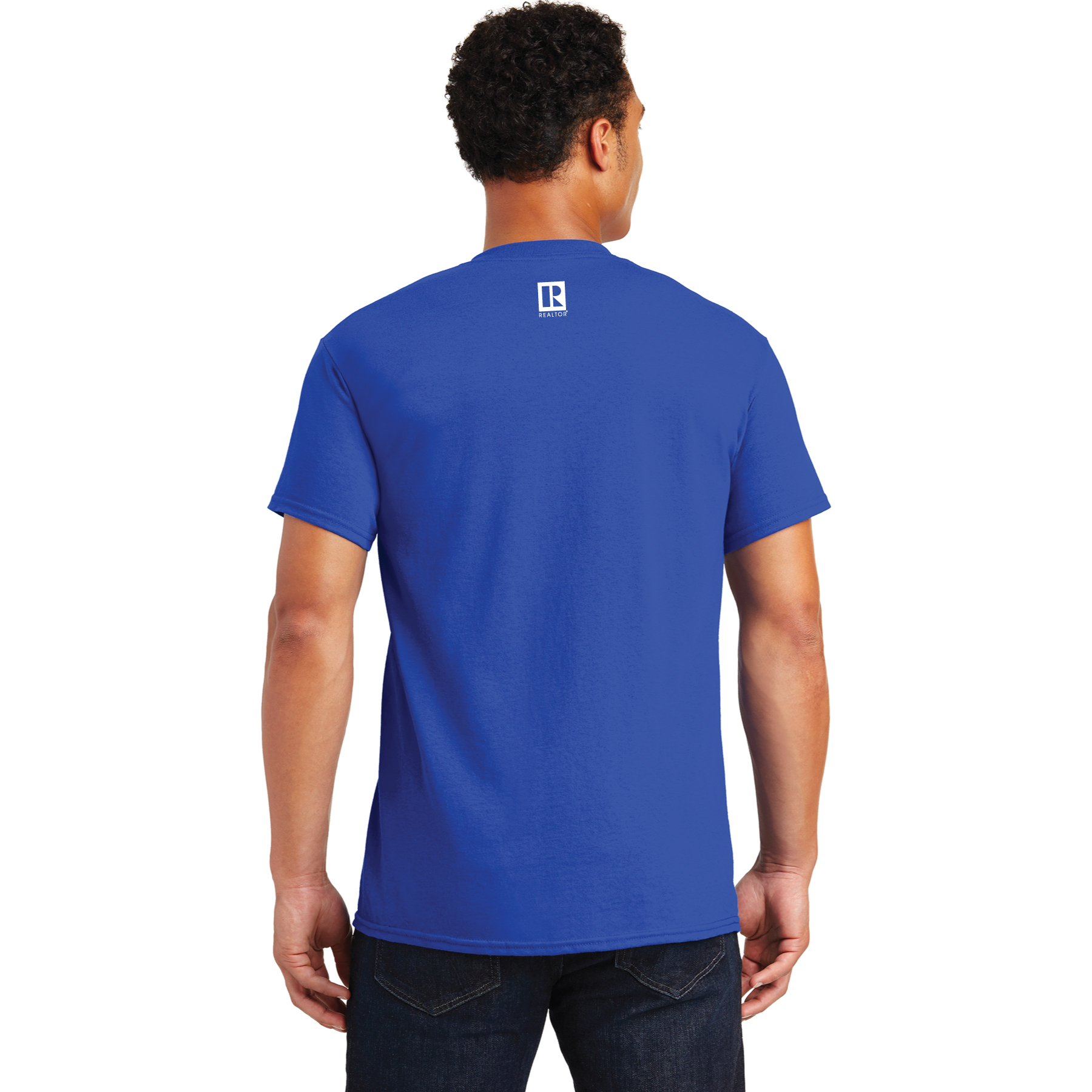 Is Your Agent a REALTOR® Royal Blue Tee Shirt - RCG1146