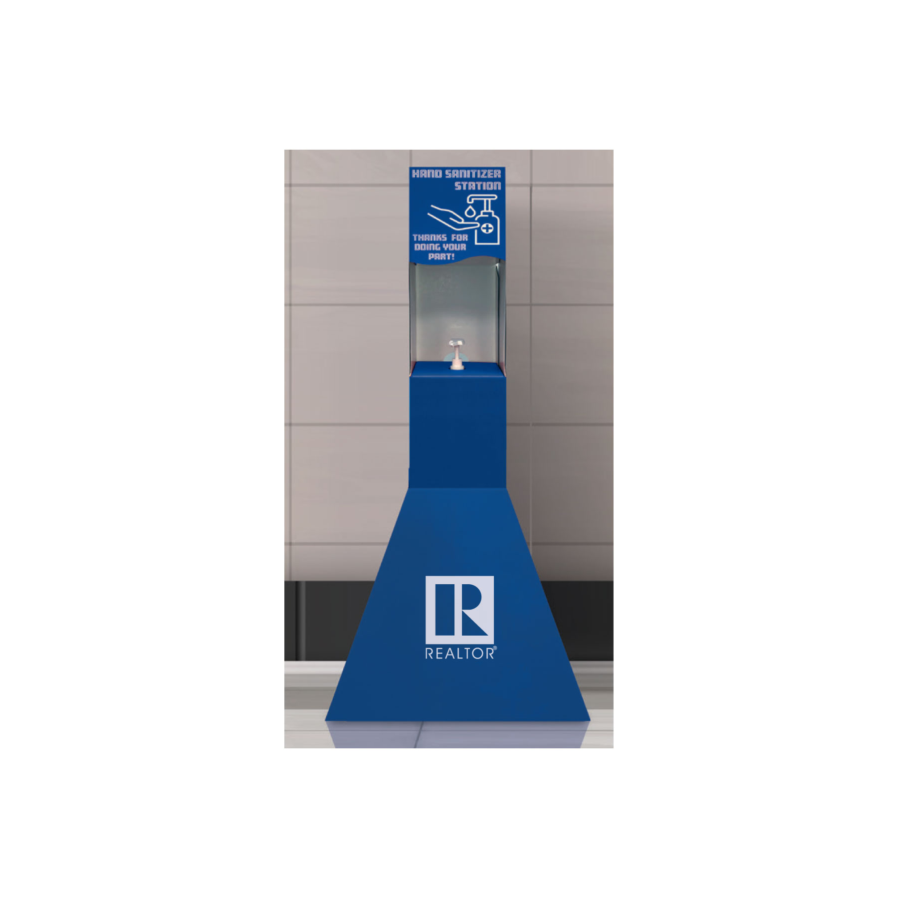 Made to Order: Hand Sanitizer Station - RTS4768