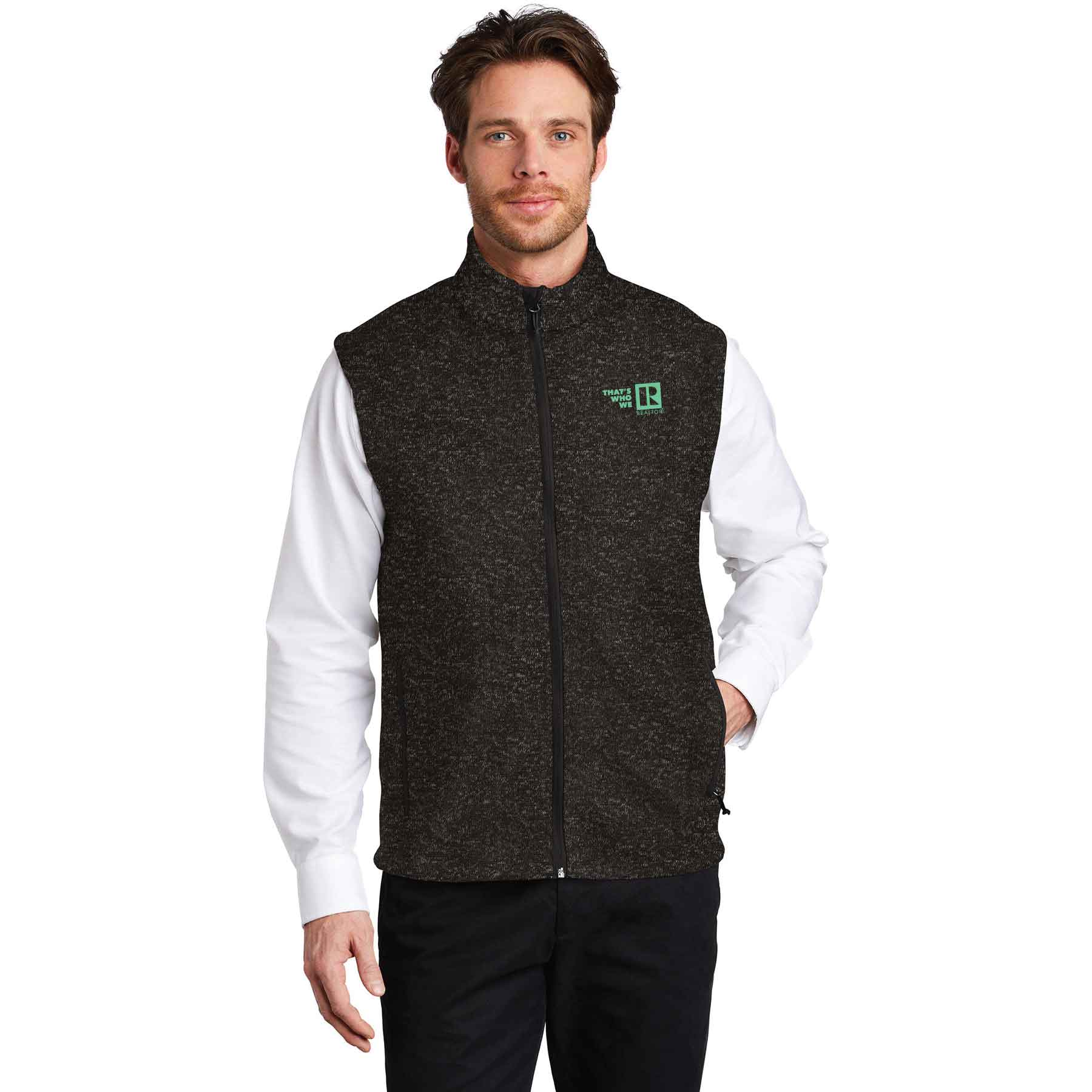 """That's Who We R"" Men's Sweater Vest - TCG4664"