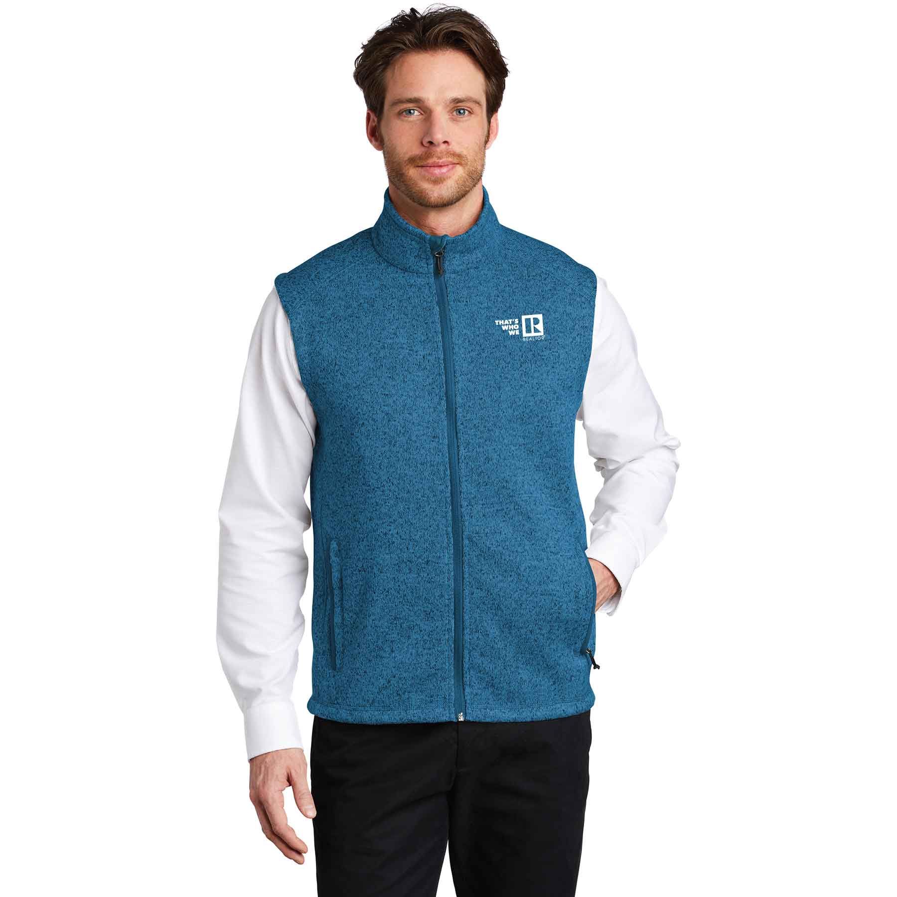 """Thats Who We R"" Mens Sweater Vest twwr,ThatsWhoWeR,Thats,TWWR,ThatWho,ThatsWho,Twwr,Thats,Whos,We,Ares,Twwr,Thats,Whos,Wes,Ares,soft, shells, vests, mens"