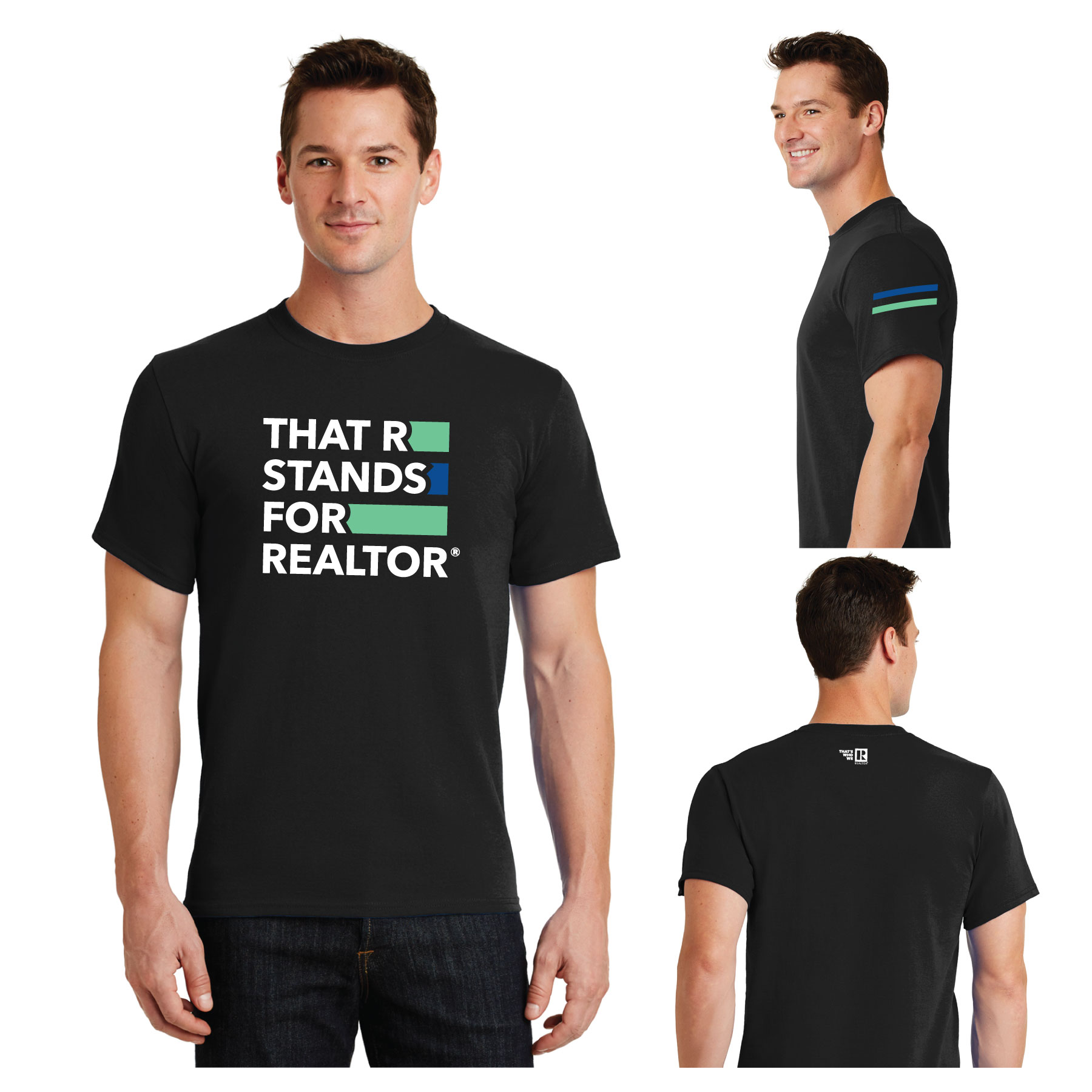 """That R Stands for REALTOR®"" Value Tee Shirt TRSFR,twwr,ThatsWhoWeR,That's,TWWR,ThatWho,That'sWho,Twwr,Thats,Whos,We,Ares,Tees,T-shirt,Tee,Casual,Values,Tees,NewEra,Longs,Sleeves"