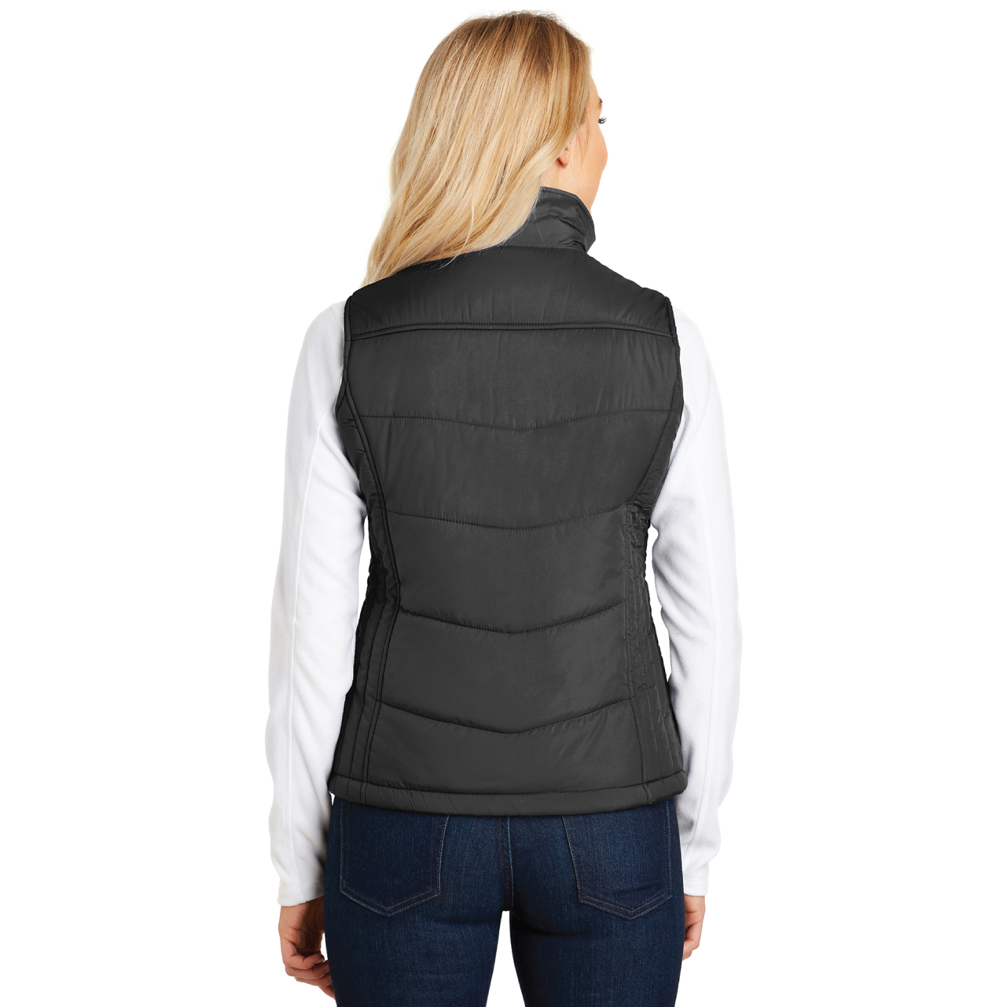 """That's Who We R"" Ladies Puffy Vest - TCL4086"