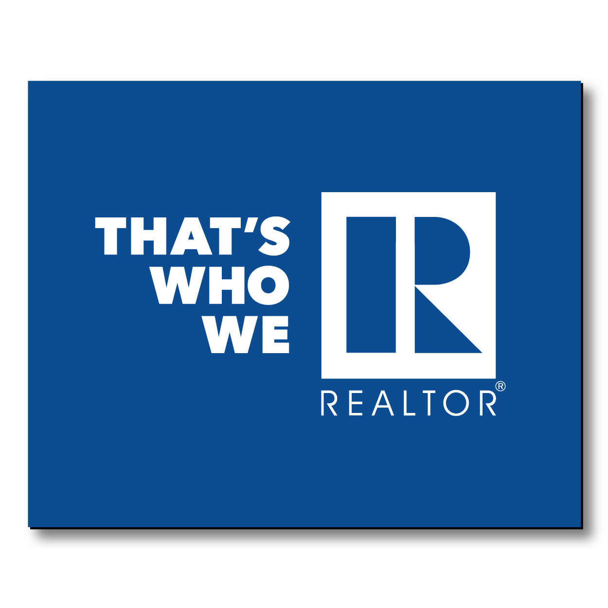 """That's Who We R"" Car Magnets - RTS4747"