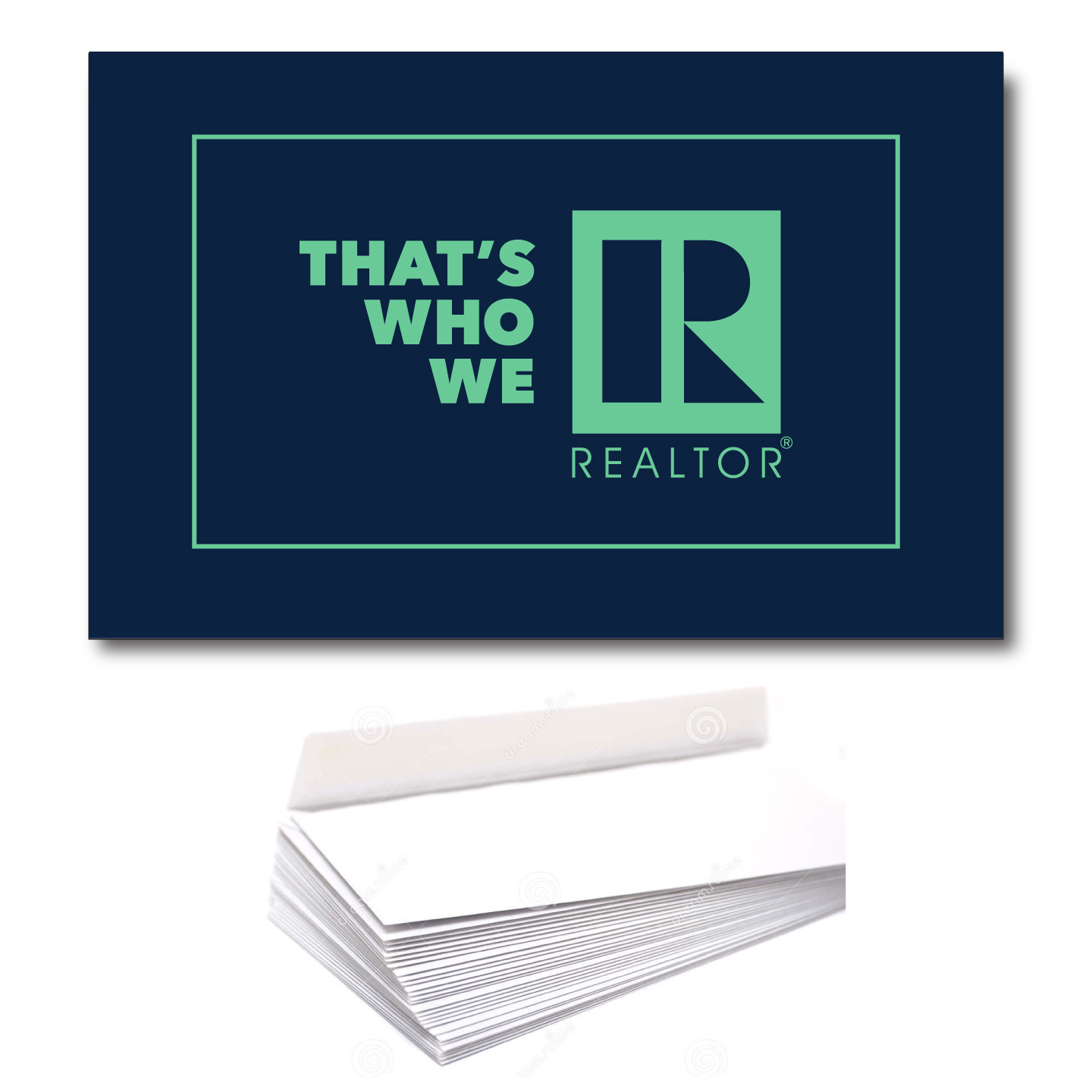 Thats Who We R Notecard/Greeting Card Set RTS4013,Notes,Cards,Greetings,Notecards,Envelopes,Mailings,Thanks,Thankyous,TWWR,Thats,Whos,Wes,Ares,