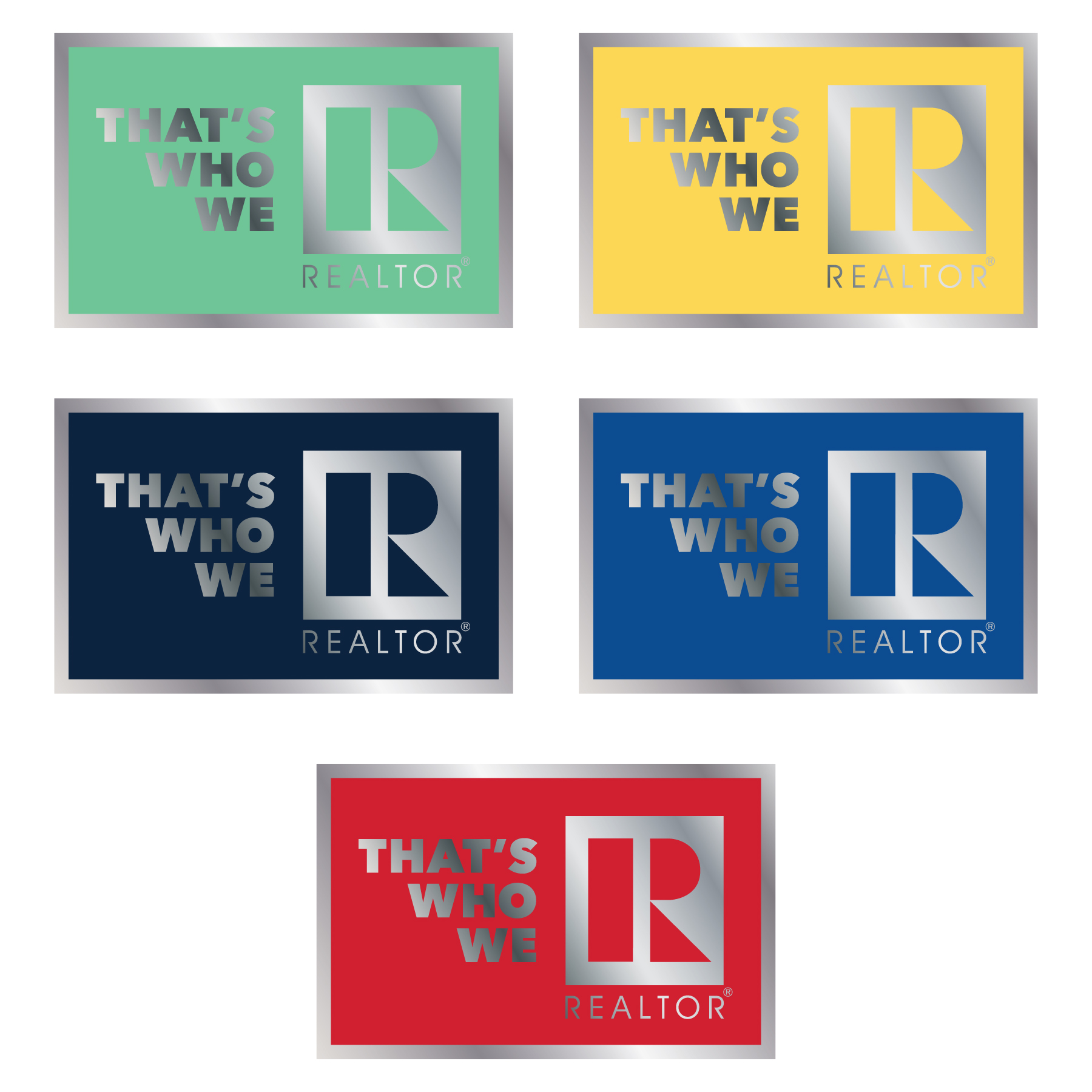 """Thats Who We R"" Lapel Pin twwr,ThatsWhoWeR,Thats,TWWR,ThatWho,ThatsWho,Pins,Lapels,Rs,Magnets"