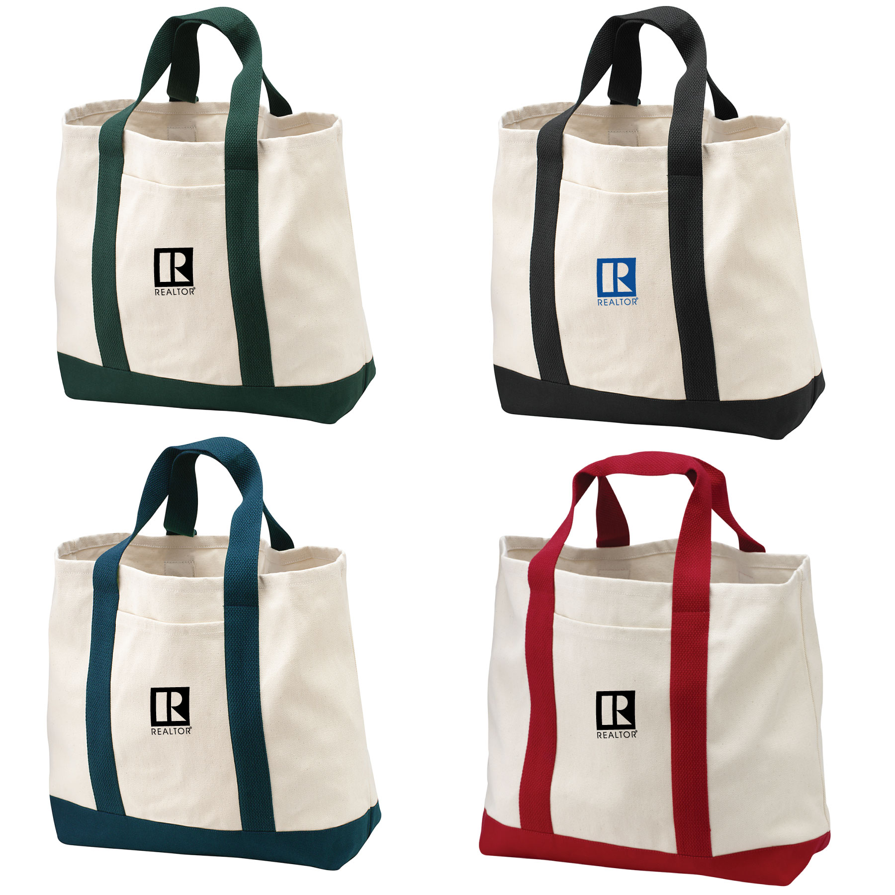 Regatta Two-Tone Shopping Tote - BTO1042