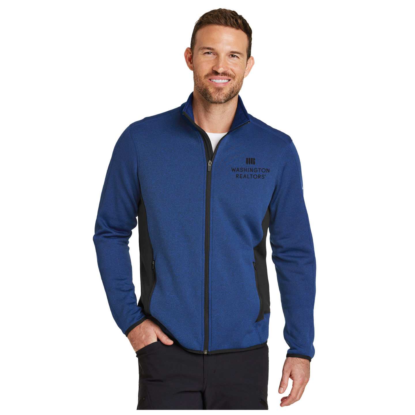 Washington REALTORS® Mens Eddie Bauer Fleece Jacket
