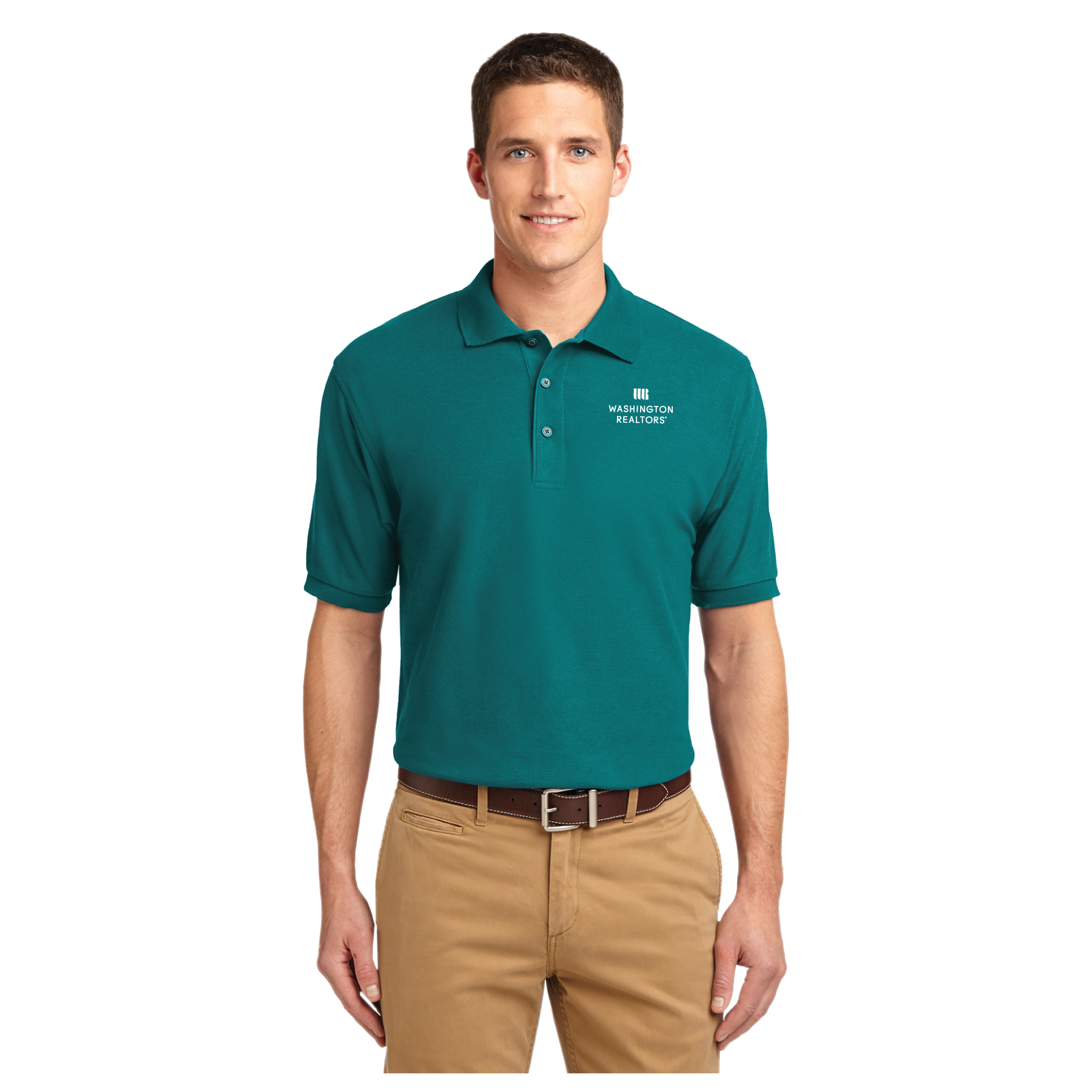 Washington REALTORS® Mens Pique Polo Shirt