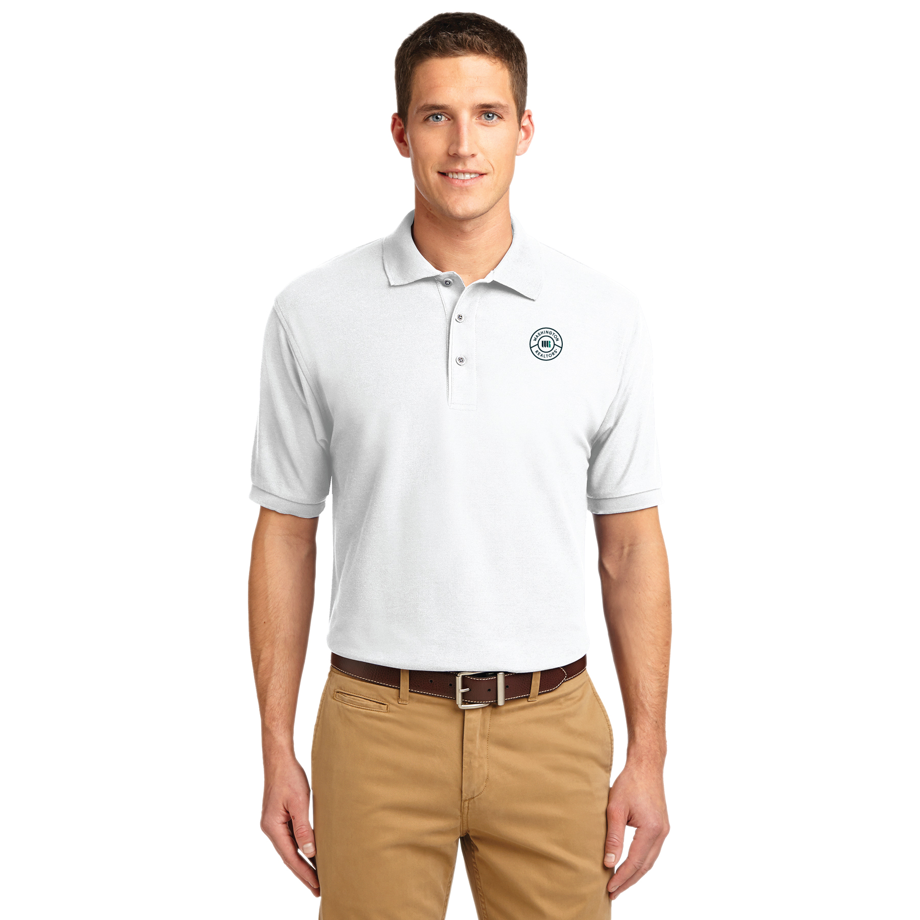 Washington REALTORS® Mens Pique Polo Shirt - TCG1110WA