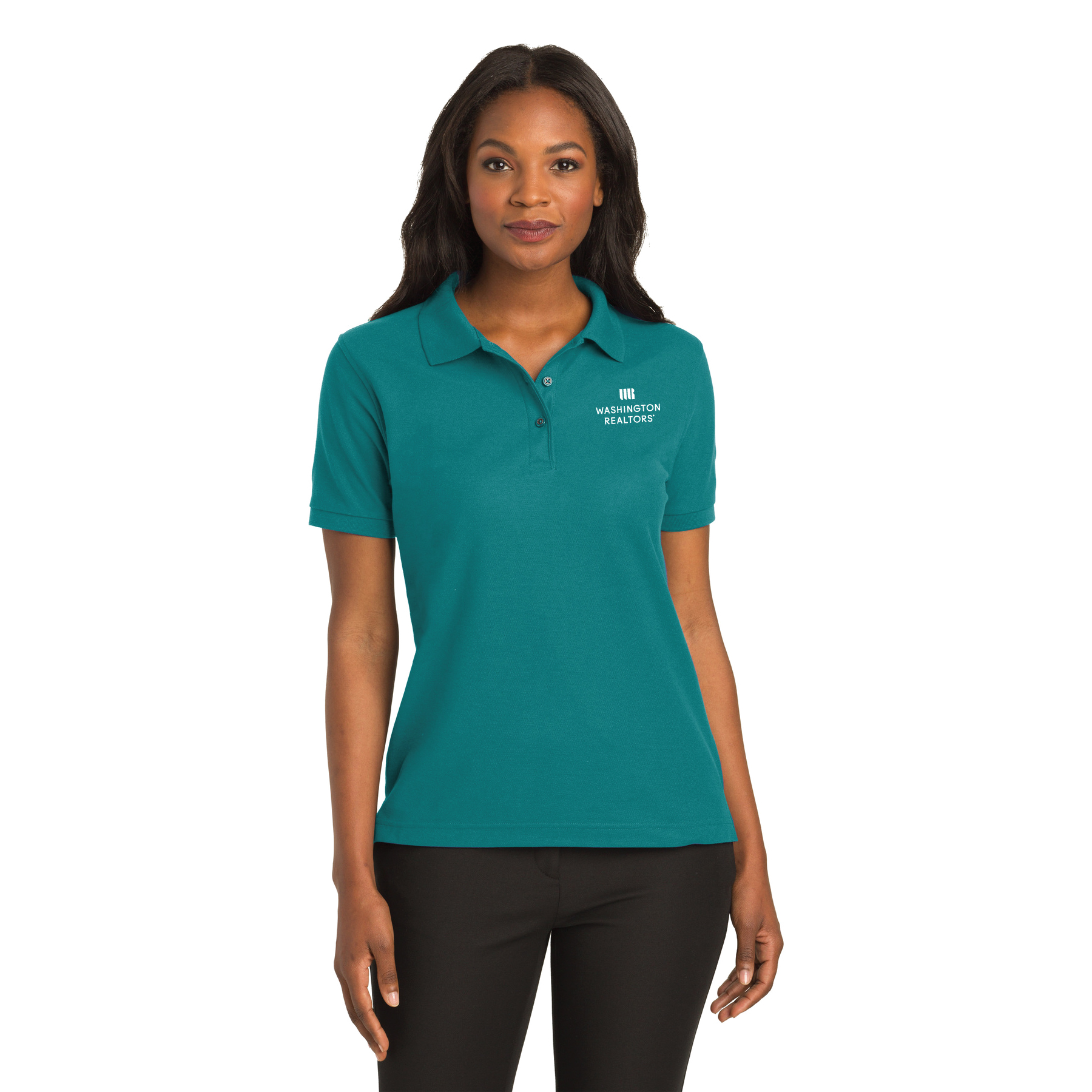Washington REALTORS® Ladies Pique Polo Shirt