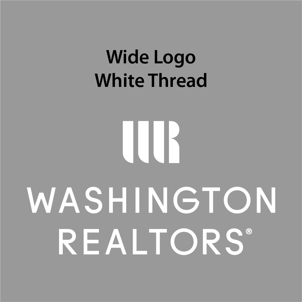 Wide Logo - White Thread