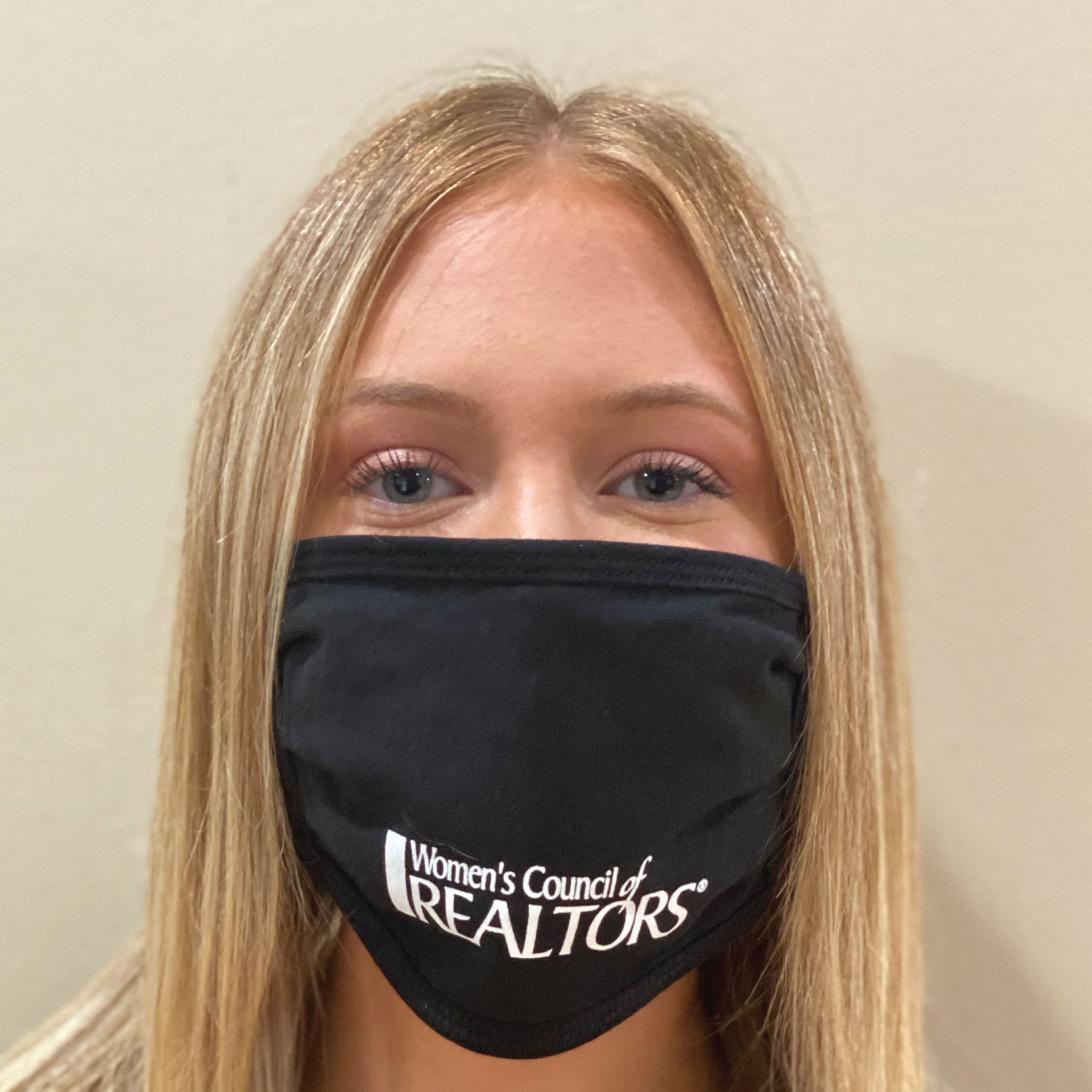 In Stock: 2 Layer Women's Council Logo Mask - WCR4685